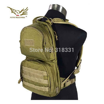 Genuine FLYYE H009 1000D CORDURA Waterproof Nylon Molle Hydration Backpack Outdoor Tactical Backpacks Military Army Bags