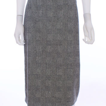 "MAX MARA ITALY ""BARNI""  Wool Cashmere Blend Pencil Skirt Size 12"