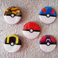 Pokemon Pins Poke Ball Generation One