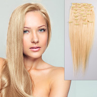 20 inch SONO Full Head Clip-In Hair Extension 160g