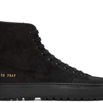 SSENSE Exclusive Black Tournament High-Top Sneakers