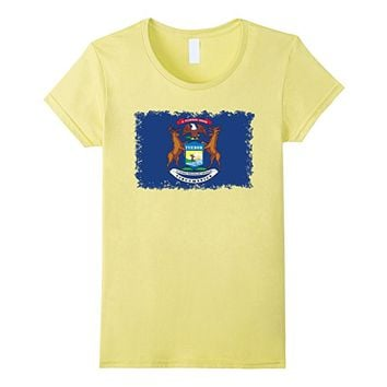 Michigan State Flag T-Shirt