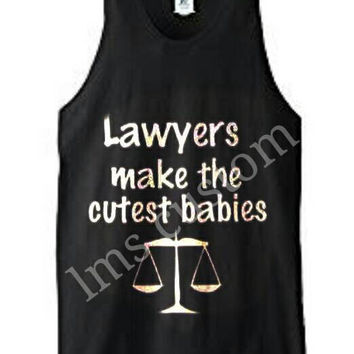Custom clothing/custom t-shirt/custom gifts/funny shirts/Add logo picture text/lawyer make a cutest babies