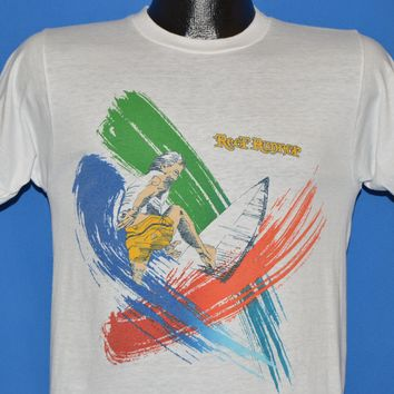 80s Reef Runner Neon Surfing t-shirt Small