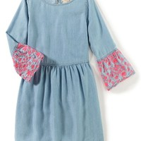 Peek Allison Embroidered Dress (Toddler Girls, Little Girls & Big Girls) | Nordstrom