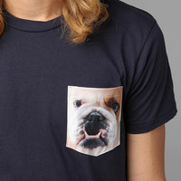 Urban Outfitters - Bulldog Pocket Tee