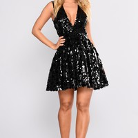 For Real Fairytale Dress - Black
