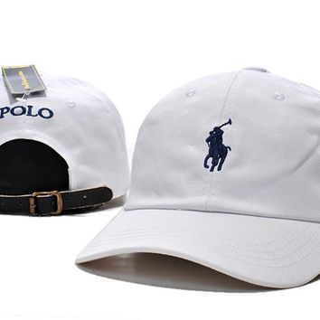 POLO Embroidered Baseball cotton cap Hat