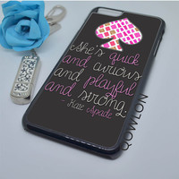 Kate Spade Quotes iPhone 6 Plus | 6S Plus Case