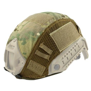 Tactical Helmet Mesh Cover Paintball Wargame Gear