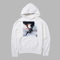 the smoking hoodie