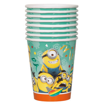 The Minions 9oz Party Cups [8 Per Pack]