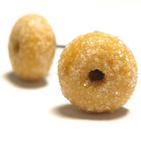 Sugar Doughnut stud earrings