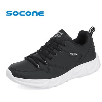 Men's Cushioned Athletic Lightweight Tennis Shoes