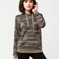 OTHERS FOLLOW Camo Womens Hoodie | Sweatshirts + Hoodies