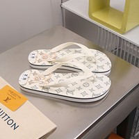 Louis Vuitton LV Popular Summer Women Flats Men Slipper LV Sandals Shoes