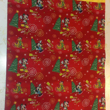 Mickey Mouse Christmas Pillowcase