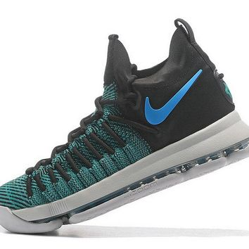 2018 New Arrival KD 9 Elite Birds of Paradise Clear Jade Sport Turquoise Brand sneaker