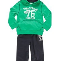 Clothing at Tesco | F&F Hooded sweatshirt and joggers set > sets > Younger boys (1-7years) >