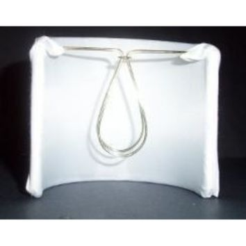 "20566 - Silk Wall Sconces Lined Lamp Shade Withclip-On Clip.Sized 4"" Height  X 4"" Width  X 4' Depth"