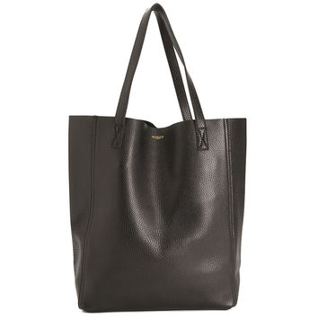The Perfect Leather Tote Alpha Black