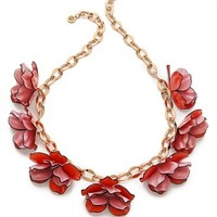Pentier Multi Flower Necklace