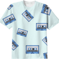 Cassete Tapes T-Shirt created by Elsewhere | Print All Over Me