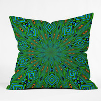 Lisa Argyropoulos Urban Aztec Throw Pillow