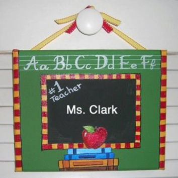Teacher Room Sign