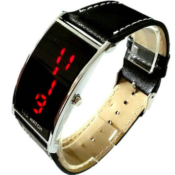 Casual Outdoor Sports LED Watch for Men Digital Watches Best Gift