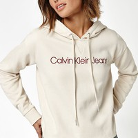 Calvin Klein Cropped Hoodie at PacSun.com