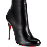 Christian Louboutin - Fifi Leather Ankle Boots - Saks Fifth Avenue Mobile