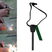 Outdoor Emergency Survival Magnesium Flint Stone Fire Starter MTY3 free shipping