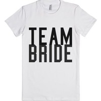 Team Bride-Female White T-Shirt