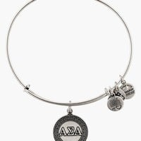 Women's Alex and Ani 'Collegiate - Alpha Sigma Alpha' Expandable Charm Bangle - Russian