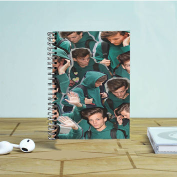 Louis Tomlinson Collage 2 Photo Notebook Auroid