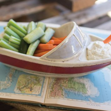 Ceramic Boat Bowl