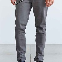 Tripp NYC Double-Zip Moto Skinny-Fit Jean- Grey