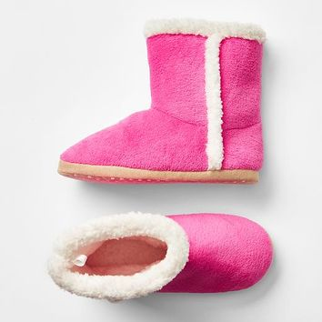 Gap Girls Cozy Sherpa Slipper Boots