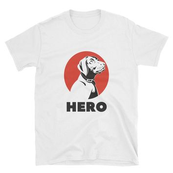 LABRADOR RETRIEVER GIFTS: Hero - Lab Tee, Guy's T-shirt, Shirt, Fashion, Guy Clothes, Girl Clothes - Cute Girlfriend Gifts