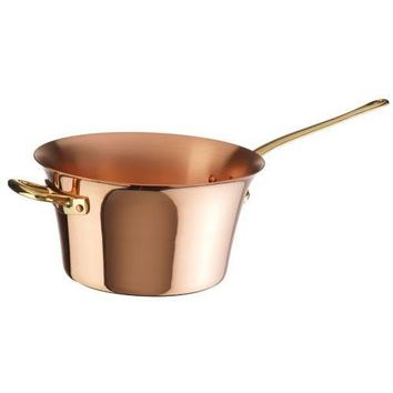 Solid Copper Polenta Pot