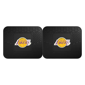 Los Angeles Lakers NBA Utility Mat (14x17)(2 Pack)