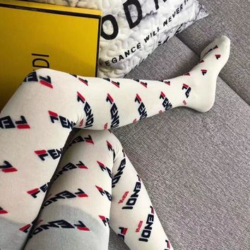 Fendi Fashion Sock Style #228
