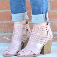Basically Perfect Bootie - Blush