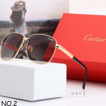 Cartier men and women with the same tide brand fashion casual wild sunglasses F-A-SDYJ NO.2