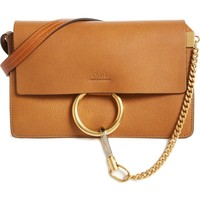 Chloé Small Faye Goatskin Leather Crossbody Bag | Nordstrom