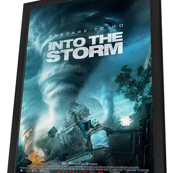 Into the Storm 27x40 Framed Movie Poster (2014)