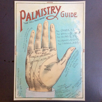 Palmistry Guide Print