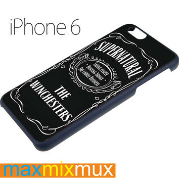 Supernatural The Winchester iPhone 6/6+ Series Hard Case