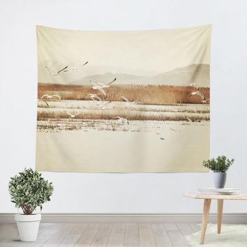 Nautical Flight Tapestry